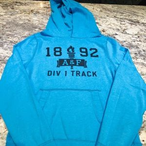 Abercrombie hooded sweatshirt size Small